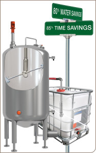 automated tank cleaning with tank washers