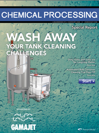 Alfa Laval Tank Cleaning offers a free guide that addresses best practices for cleaning process tanks, reactors, mixers, blenders, dryers, totes, and shipping containers.